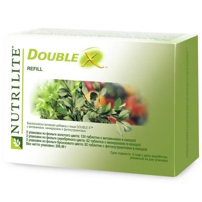 Double X с витаминами, минералами и фитонутриентами (сменный блок)